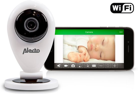 Alecto DVC-105IP - Wifi Babyfoon met Camera