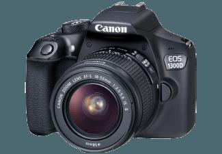CANON EOS 1300D + EF-S 18-55mm III Zwart