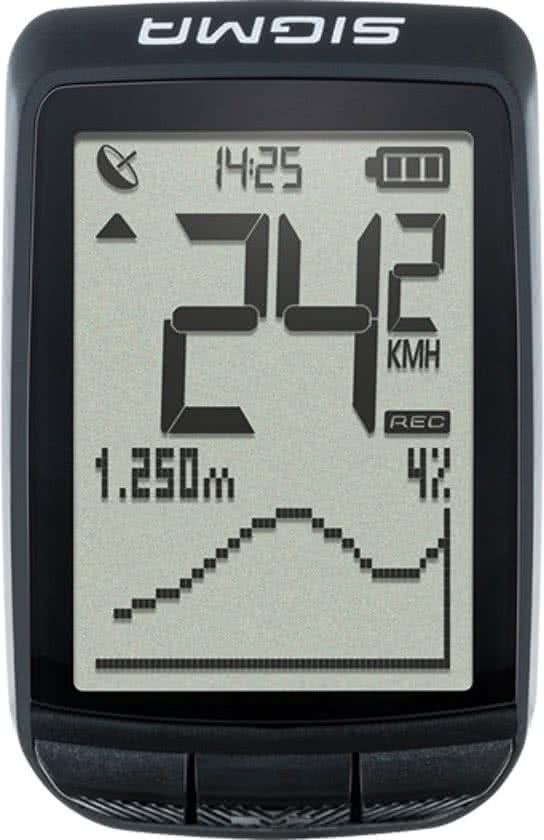 Sigma BC Pure GPS - Fietscomputer - Zwart