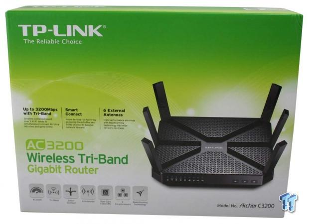 TP-LINK Archer C3200 Tri-Band AC3200 Wireless Router