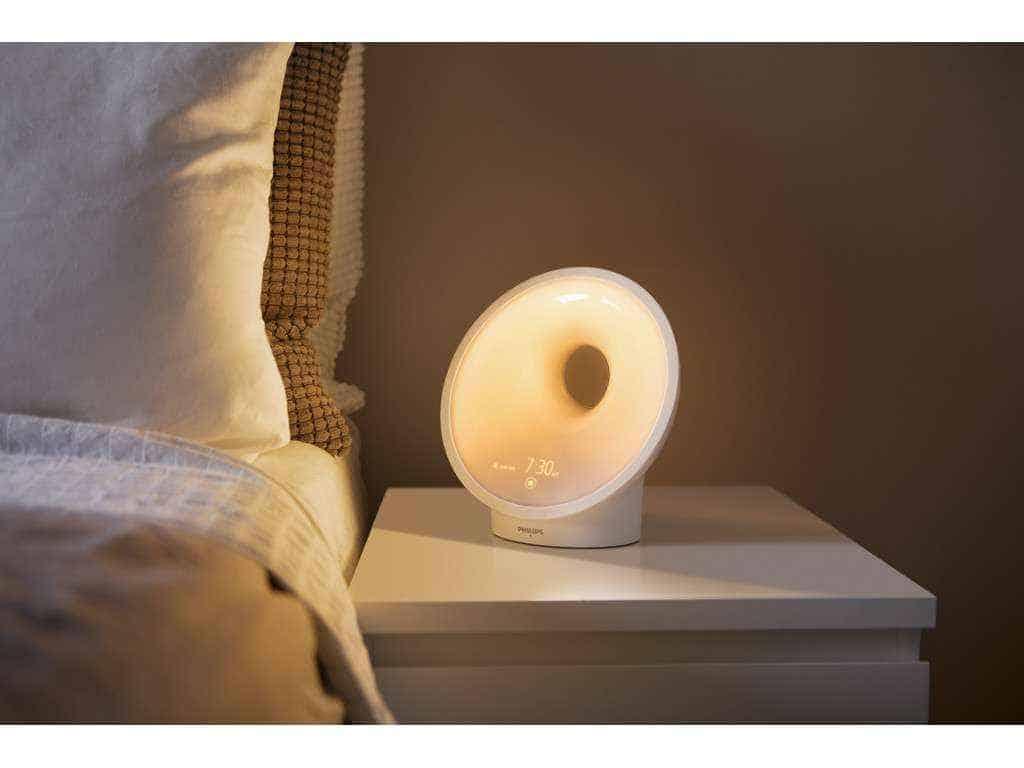 philips somneo sleep en wake up light test de beste. Black Bedroom Furniture Sets. Home Design Ideas