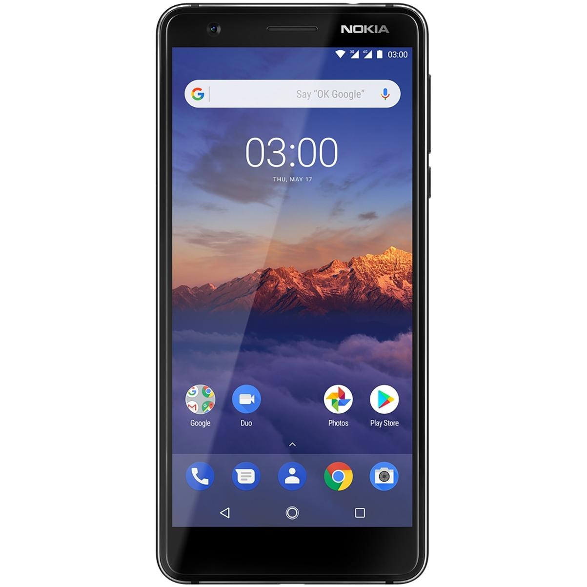 Nokia 3.1 zwart