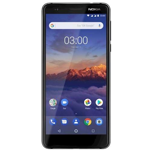Nokia smartphone 3.1 (Zwart)
