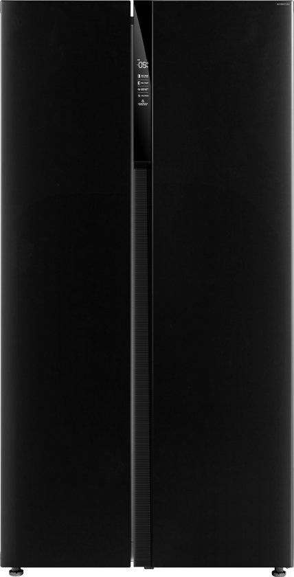 Amerikaanse koelkast, 178,8cm, A+, zwart,no-frost