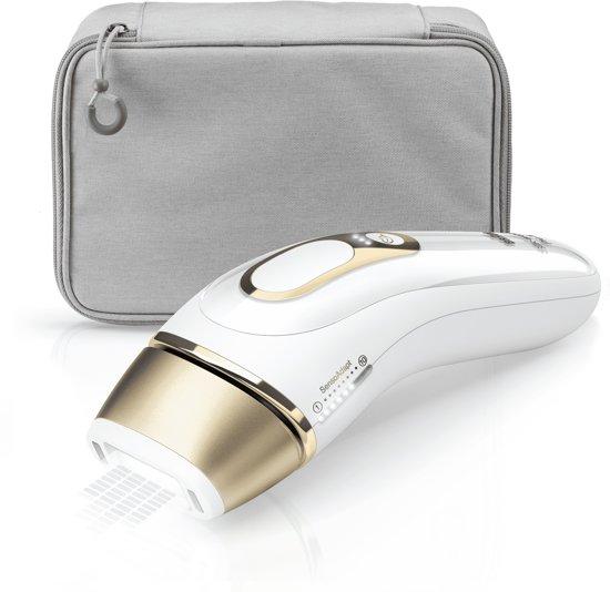 Braun Silk-expert Pro Silk·expert Pro 5 PL5014 Nieuwste Generatie IPL Ontharing, Permanente Ontharing, Wit En Goud