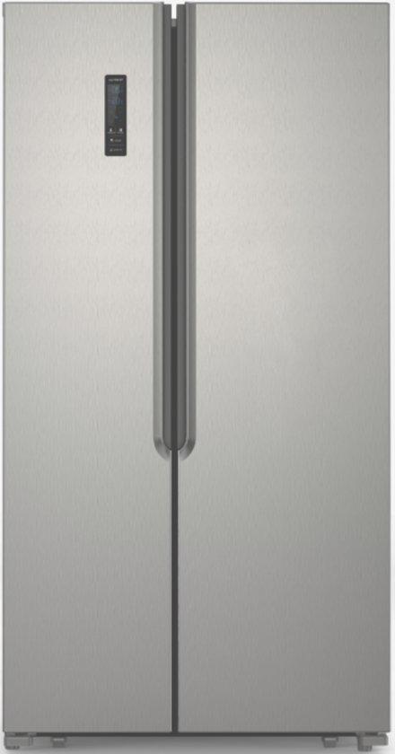 Exquisit SBS135-4 A+ - Amerikaanse Koelkast - Inoxlook