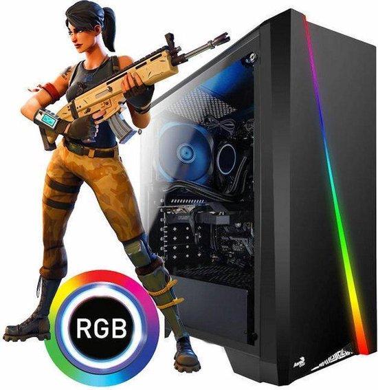 AMD Game PC Quadcore | GT1030 GDDR5 | 16 GB | 240 GB SSD
