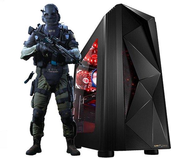 omiXimo | AMD Ryzen 3 3200g | Game PC | GTX1650 | 1000 hdd | 8 GB ram | 240 GB SSD | WiFi