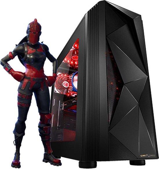 omiXimo | AMD Ryzen 3 3200g | Gaming PC | 8 GB ram | 240 GB SSD | WiFi