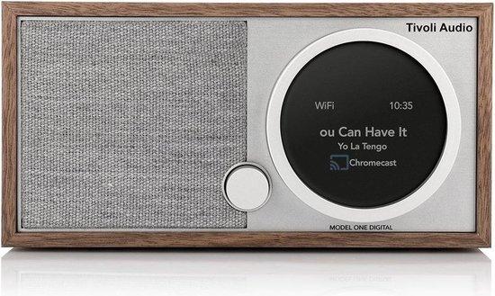 Tivoli Audio Model One Digital Generatie 2 Smart Radio - Walnoot