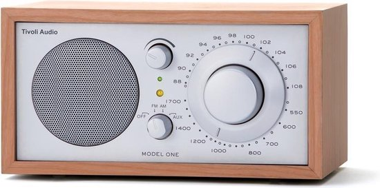 Tivoli Audio Model One - Tafelradio in Kersen/Zilver