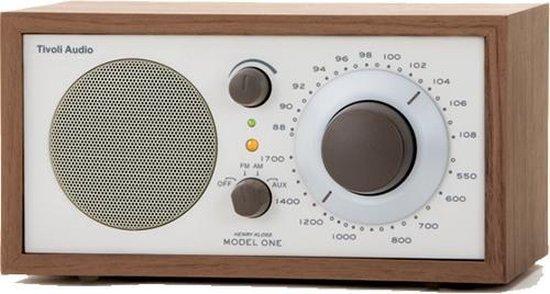 Tivoli Audio Model One - Tafelradio Walnoot/Beige