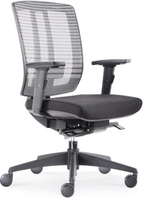 Luxe ergonomische bureaustoel. Model BenS 816.